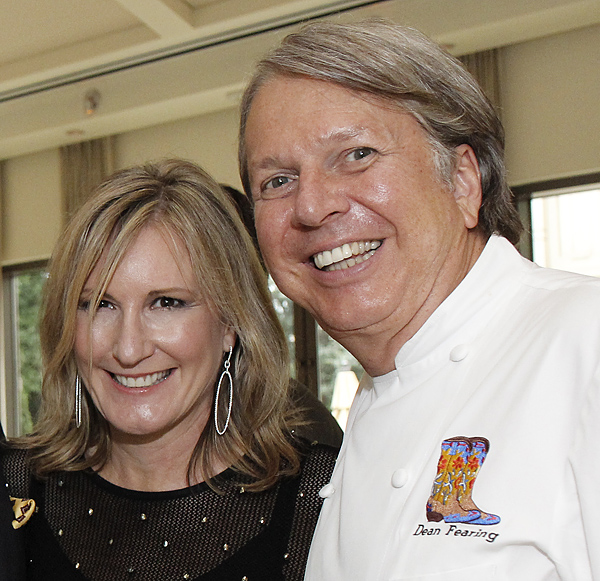 Wanda Gierhart and Dean Fearing (File photo)