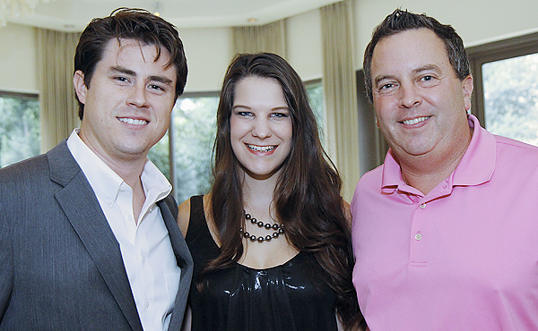 Joey Wilkensen, Megan Bowdon and Andy Teller