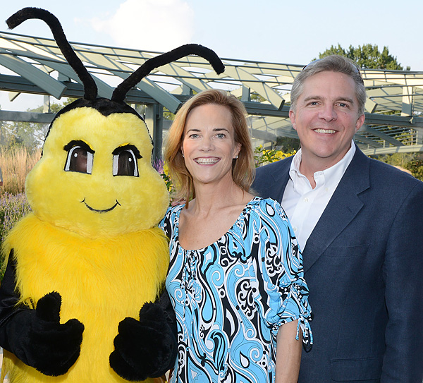 Betty the Bee and Mona and Bill Graue*