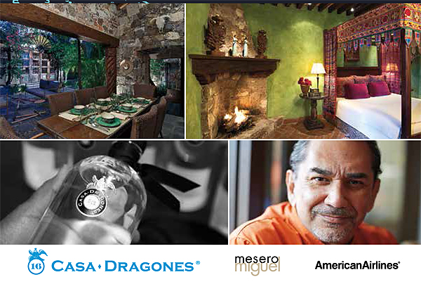 Tequila Trip To La Casa Dragones And Dinner At Mesero Miguel*