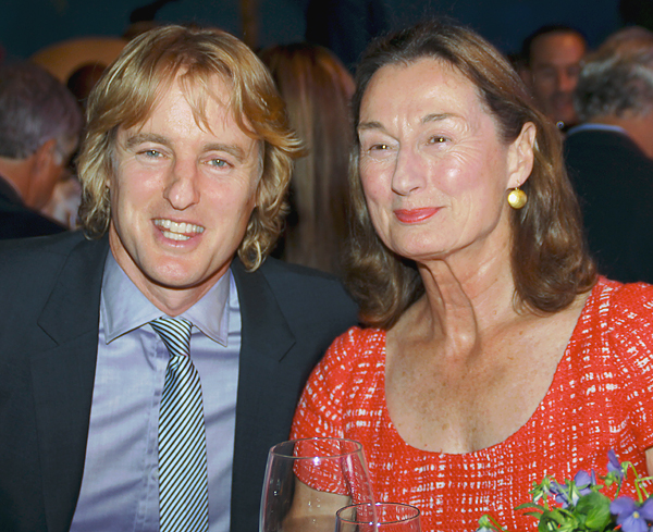 Owen Wilson and Laura Wilson (File photo)