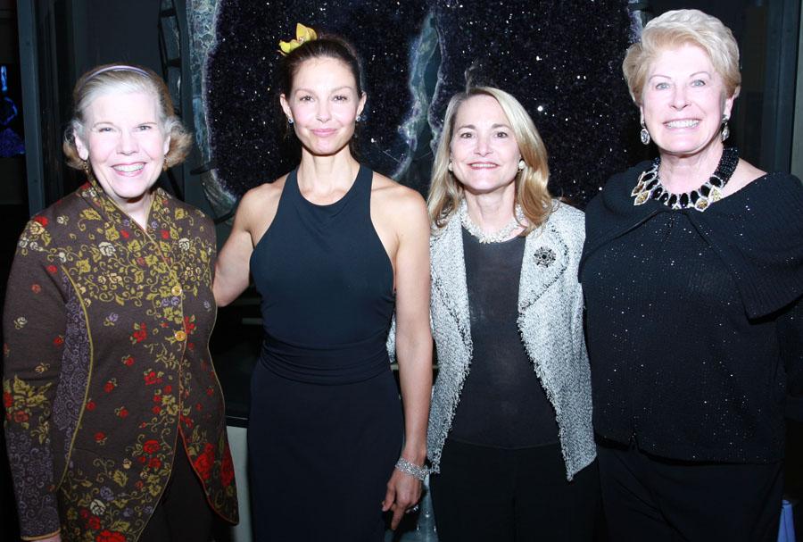 Mary Jalonick, Ashley Judd, Margaret Keliher and Maurine Dickey**
