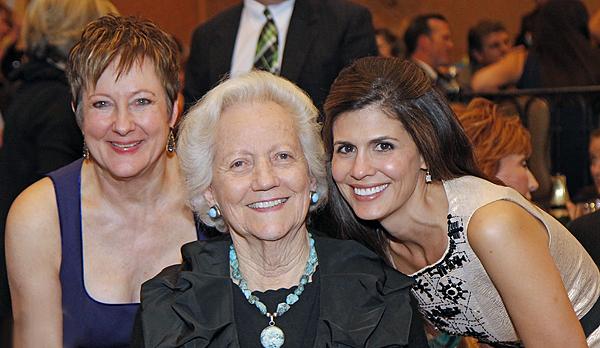 Carol Huckin, Carolyn Lupton and Marisa Huckin