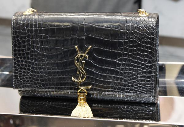 YSL lizard purse
