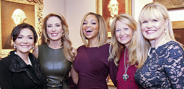 Les Femmes Du Monde Luncheon Honors Six Outstanding Women Of The Year With Pomp And Smiles