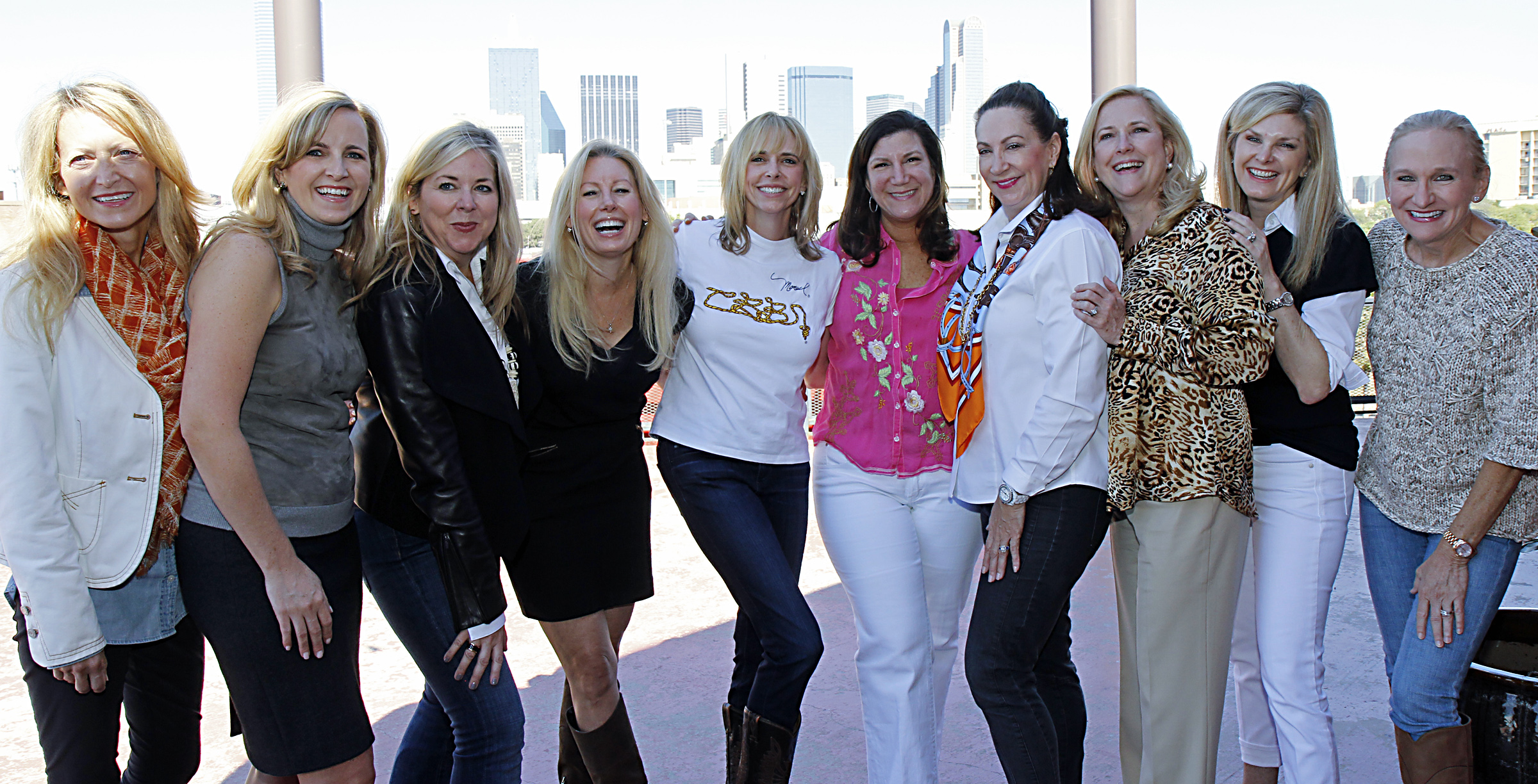 Lynn McBee, Kristen Sanger, Kristi Hoyl, Mary Gill, Cindy Stager, Jill Tananbaum, Cindy Turner, Gina Betts, Tanya Foster and Janie Condon
