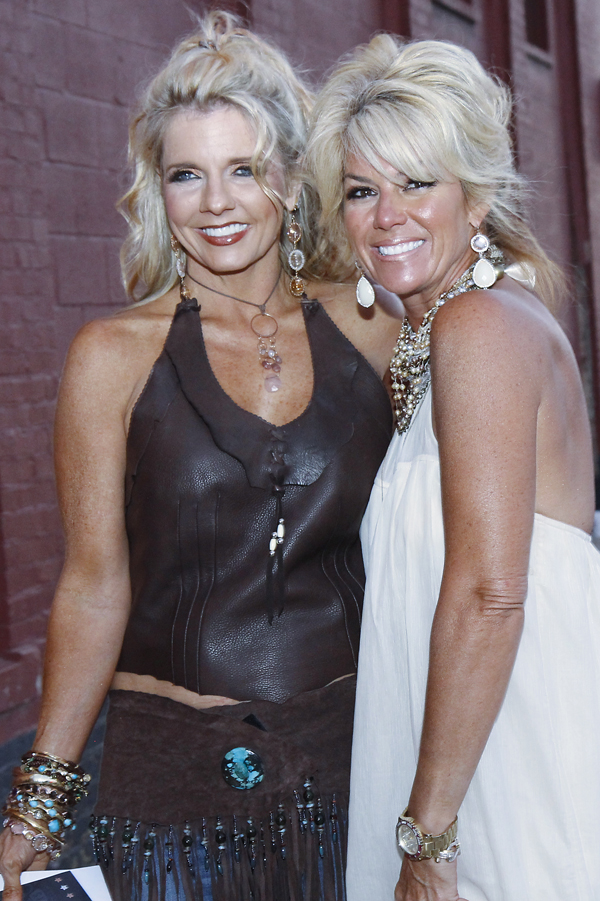 Tina Rich and Traci McGuiness
