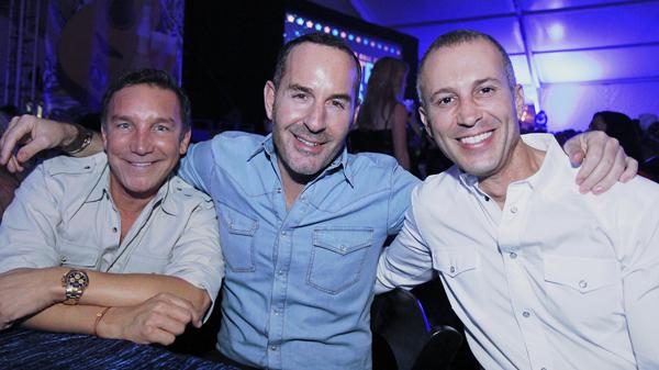 Gonzalo Bueno, Brian Bolke and Faisal Halum