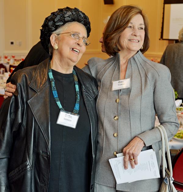 Sybil Novinski and Gail Thomas*