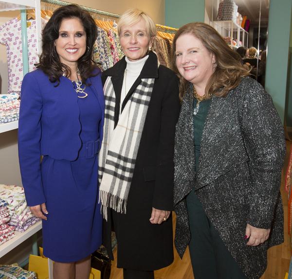 Wendy Messmann, Carol Seay and Paige McDaniel**