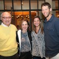 Bob and Brenda White and Ellen and Clayton Kershaw