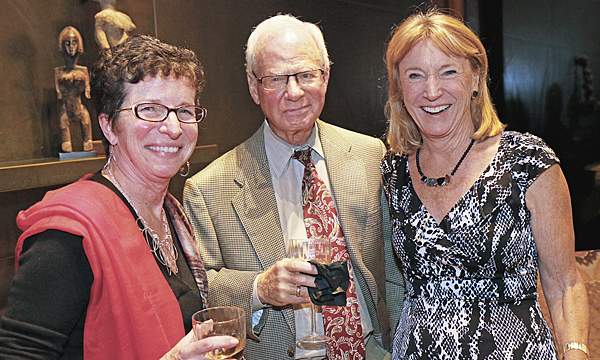 Diane Brierley and Tom and Holly Mayer