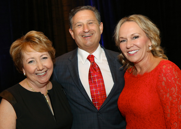 Kathleen LaValle and Rob and Linda Swartz