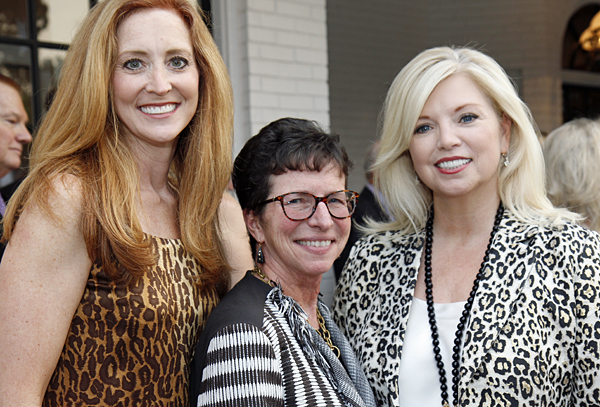 Tiffany Divis, Diane Brierley and Jennifer Houser