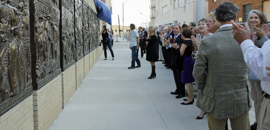 Unveiling the wall
