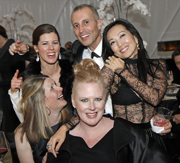 Piper Wyatt, Brooke Hortenstine, Faisal Halum, Suzanne Droese and Tina Craig