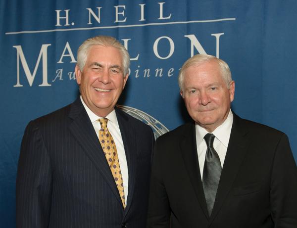 Rex Tillerson and Robert Gates*