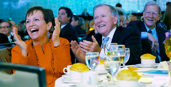 2014 Robert S. Folsom Leadership Awardee Bobby B. Lyle Was Honored With Tributes And Monkey Shine