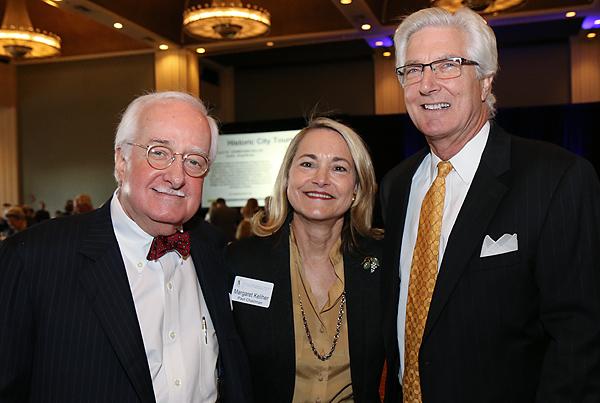 Stuart Bumpas and Margaret and Lester Keliher