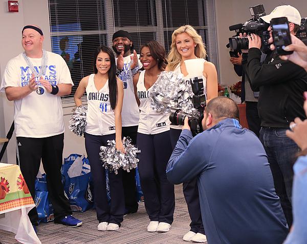 Dallas Mavericks crew