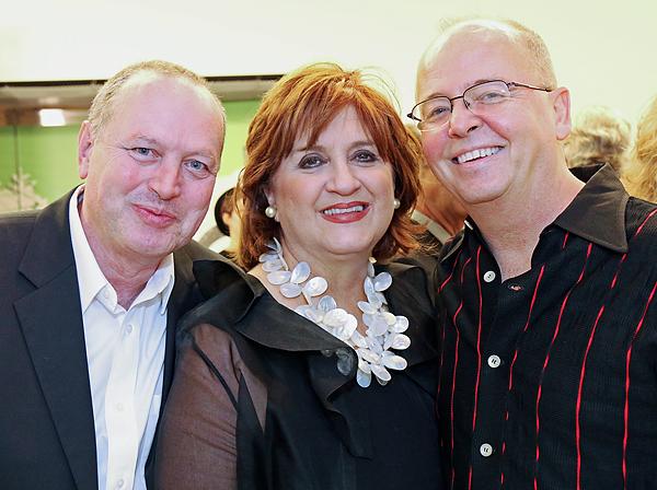Jack Bunning, Veletta Lill and Jeff Sauers