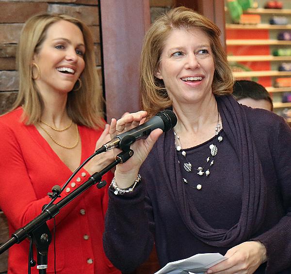 Meredith Lamb and Jill Cumnock
