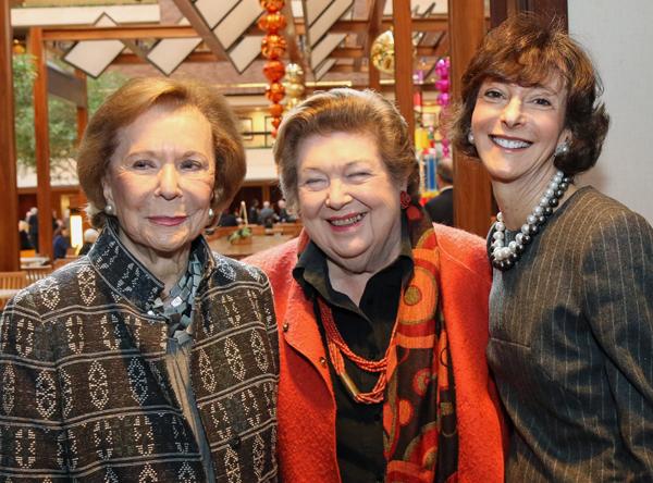 Ruth Altshuler, Helen Storey and Nancy Halbreich