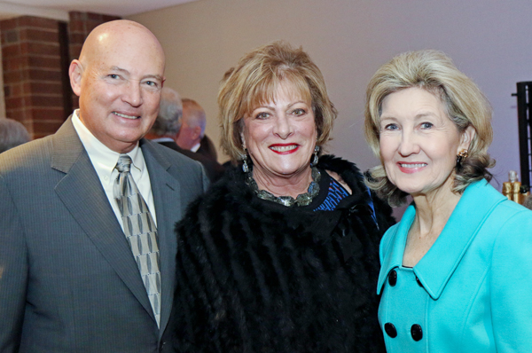 John and Patti Jo Turner and Kay Bailey Hutchison