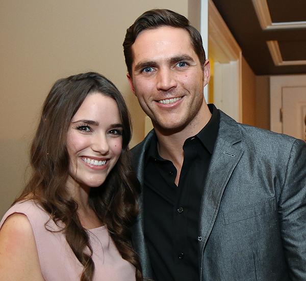 Lizzie Herbert and Casey Conlon