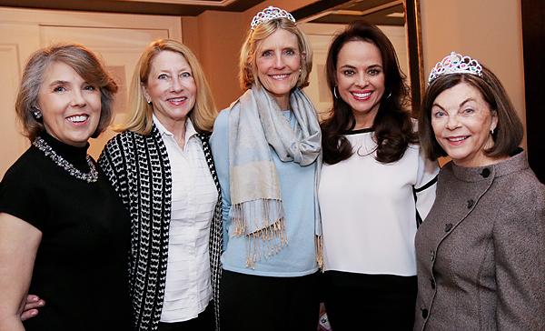 Cynthia Mitchell, Debbie Oates, Connie O'Neill, Aileen Pratt and Barbara Stuart