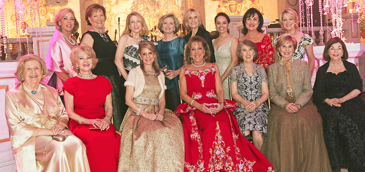 Crystal Charity Ball First Ladies past and present