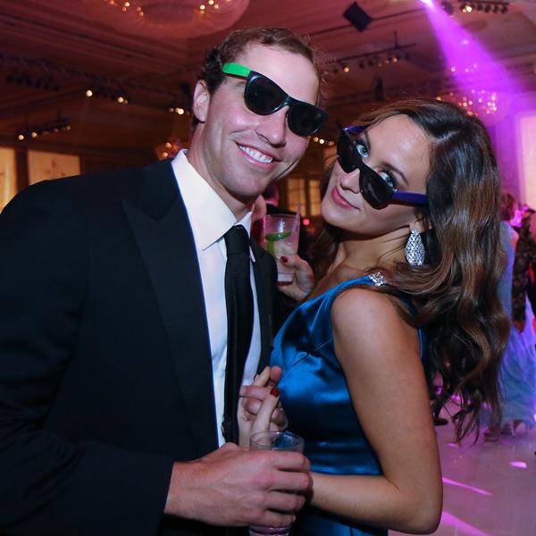 Keith Conlon and Megan Somerville