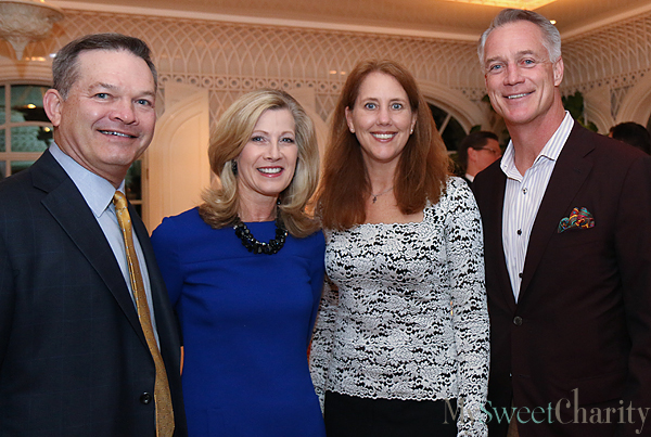 Richard and Kathy Holt, Holly Reed and Daryl Johnston