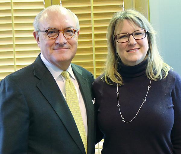 Bob White and Melissa Cooksey