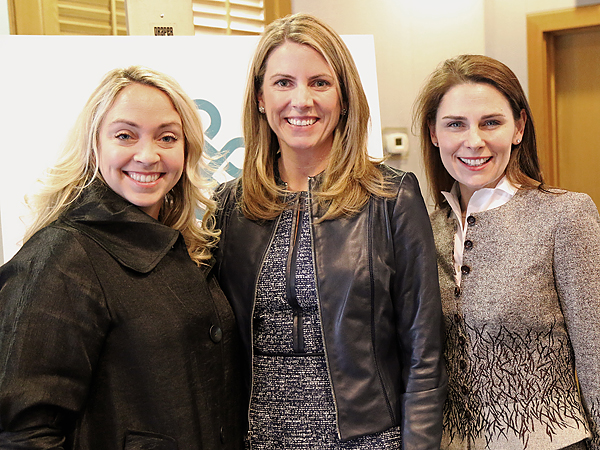 Meredith Mosley, Julie Bagley and Nikki Webb