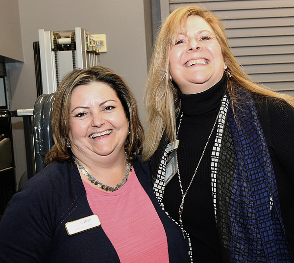 Barb Reynolds and Yvette Rehr