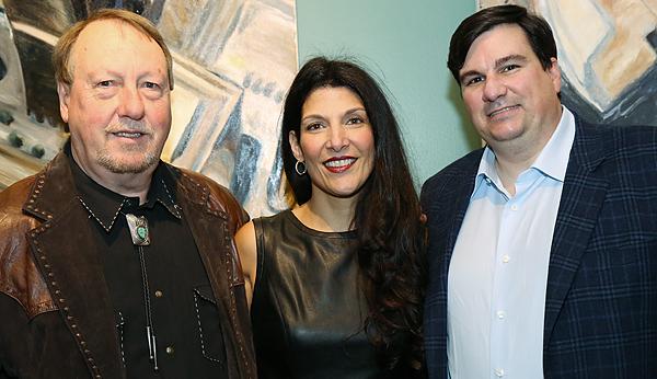 Joe Lauginiger, Amara Durham and Michael Fowler