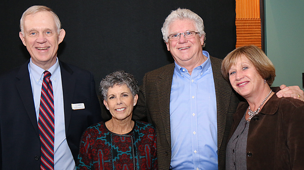 Stephen Garrison, Shelley Early and Mike and Kathy Early