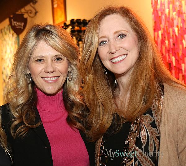 Lori Rakowitz  and Tiffany Divis