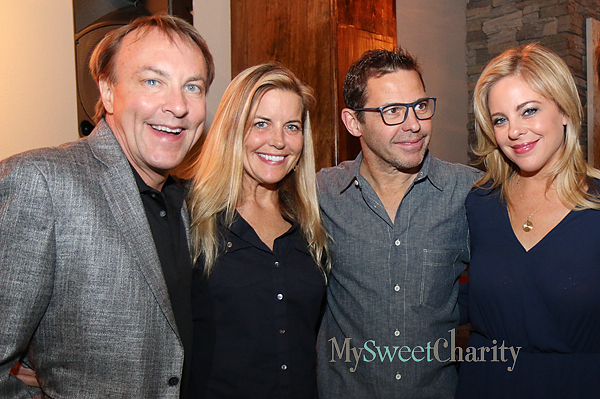 David Tice, Debra Nelson, John Tesar and Amy Vanderoef
