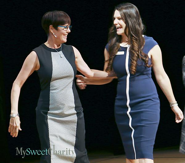 Lauren Embrey and Megan Bowdon