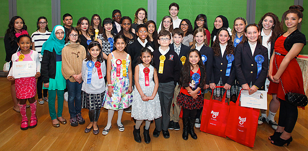 2014 Expressions of Gratitude Student Winners*