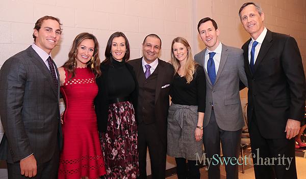 Keith Conlon, Megan Somerville, Shannon and Ahmad Ajami, Nicole and Tommy Somerville and Tom Somerville
