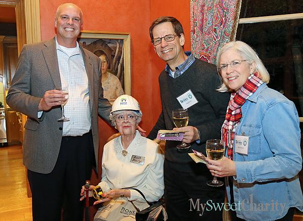 Bill Hall, Aunt Marji and Doug and Jeanne Reinelt