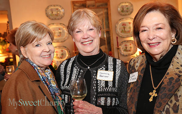 Cynthia Woodall, Jeannie Fortson and Jane Pierce