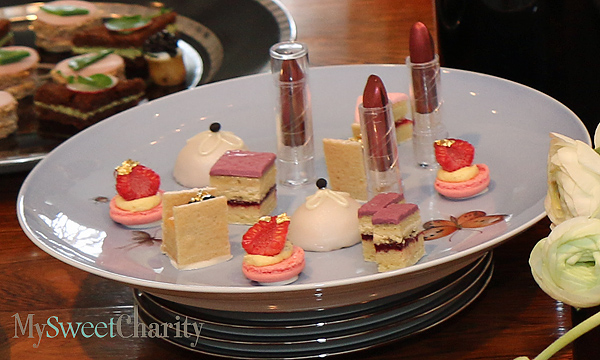 Sweets including edible lipsticks