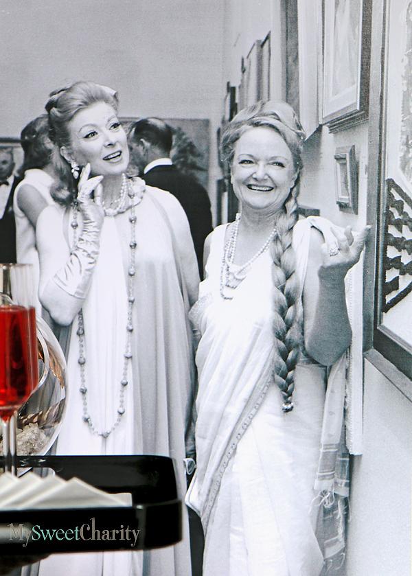Greer Garson and Jodie Biddle