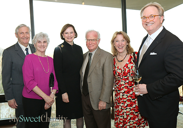 Kern and Marnie Wildenthal, Carol Glendenning, Tom and Holly Mayer and Don Glendenning