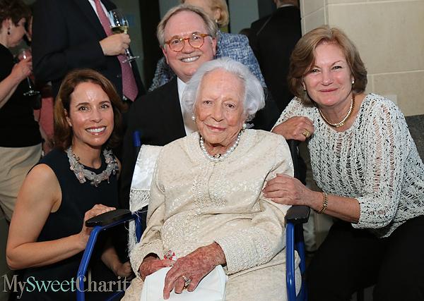 Catherine Rose, Don Glendenning, Margaret McDermott and Mary McDermott Cook