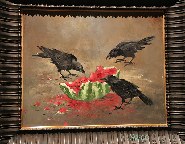 Beaked Dancers And Slices Of Watermelon Add To Opening Reception Of John Alexander's Exhibition At Meadows Museum